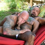 Butch-Dixon-Bo-Bangor-and-Drake-Jaden-Barebacking-Daddy-Muscle-Tatted-Stud-Amateur-Gay-Porn-01-150x150 Tatted Muscle Daddy Fucks His Younger New Neighbor Outside