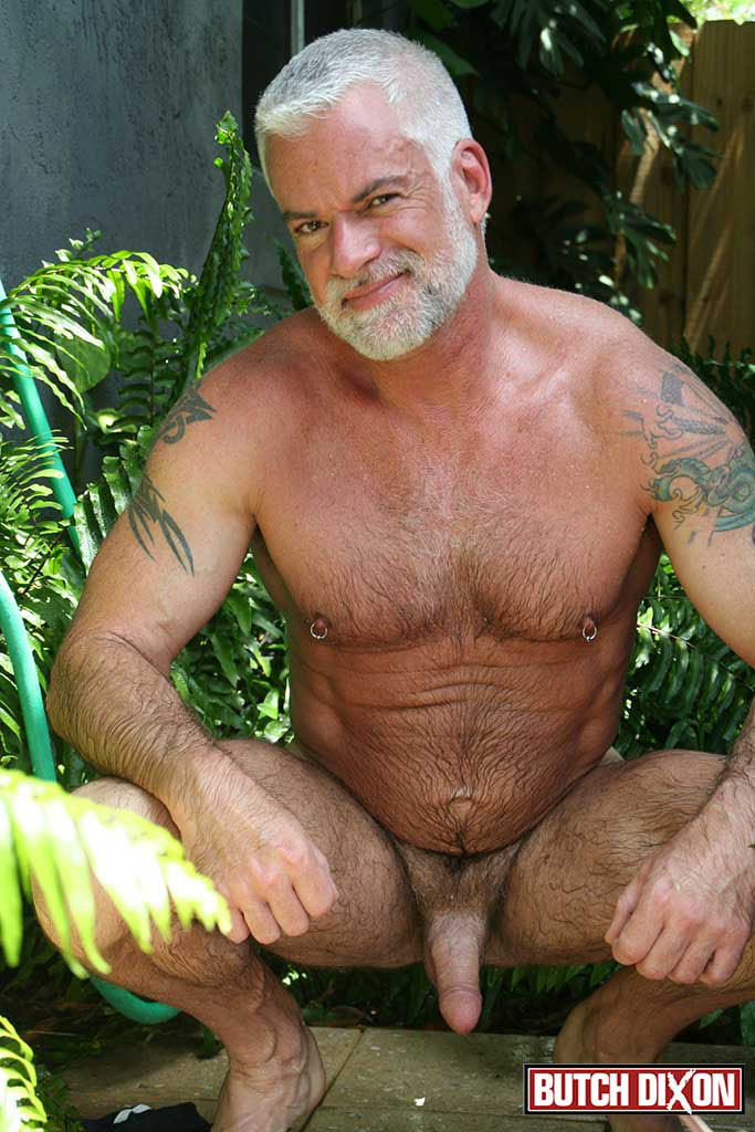Muscle Silver Daddy Jake Marshall Fucks His Younger Hairy Boyfriend