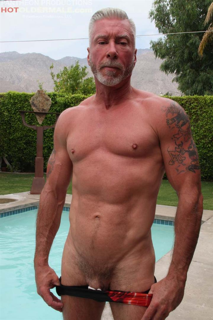 Hot-Older-Male-Dean-Burke-Silver-Daddy-Jerking-His-Cock-Amateur-Gay-Porn-08 Hot Older Male Introduces Two New Sexy Daddies