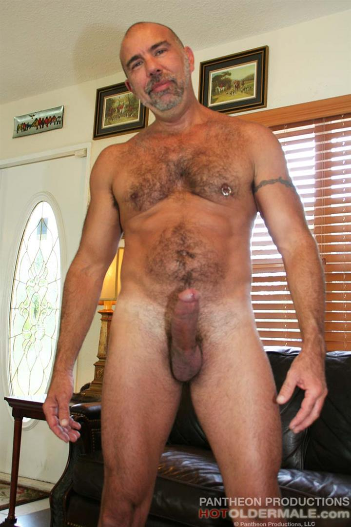 Mature hairy muscle daddy seems me