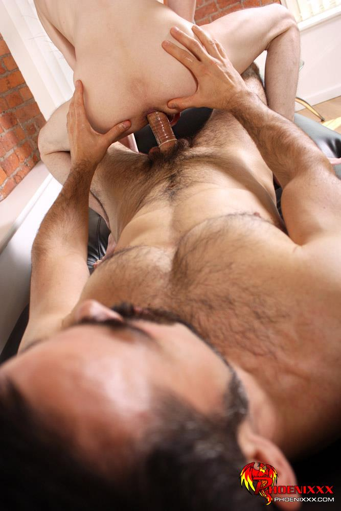 Aaron Aurora Gets Bound And Ass Fucked