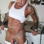 Cum Pig Men Ray Dalton Daddy Gets His Big Cock Sucked 19 150x150 Sucking The Cum Out Of A Big Thick Daddy Cock