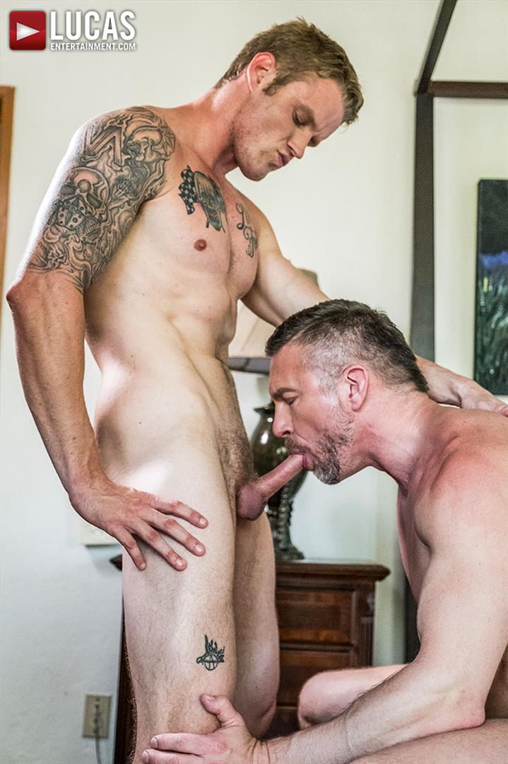 Lucas-Entertainment-Shawn-Reeve-and-Tomas-Brand-Bareback-Daddy-Sex-08 Bareback Riding A Thick Uncut Daddy Dick