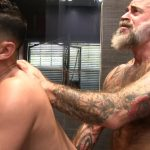 Victor-Cody-XXX-Nate-Pierce-and-Cesar-Xes-Bareback-Bathhouse-Sex-21-150x150 Getting Fucked By A Hairy Daddy In The Bathhouse Shower