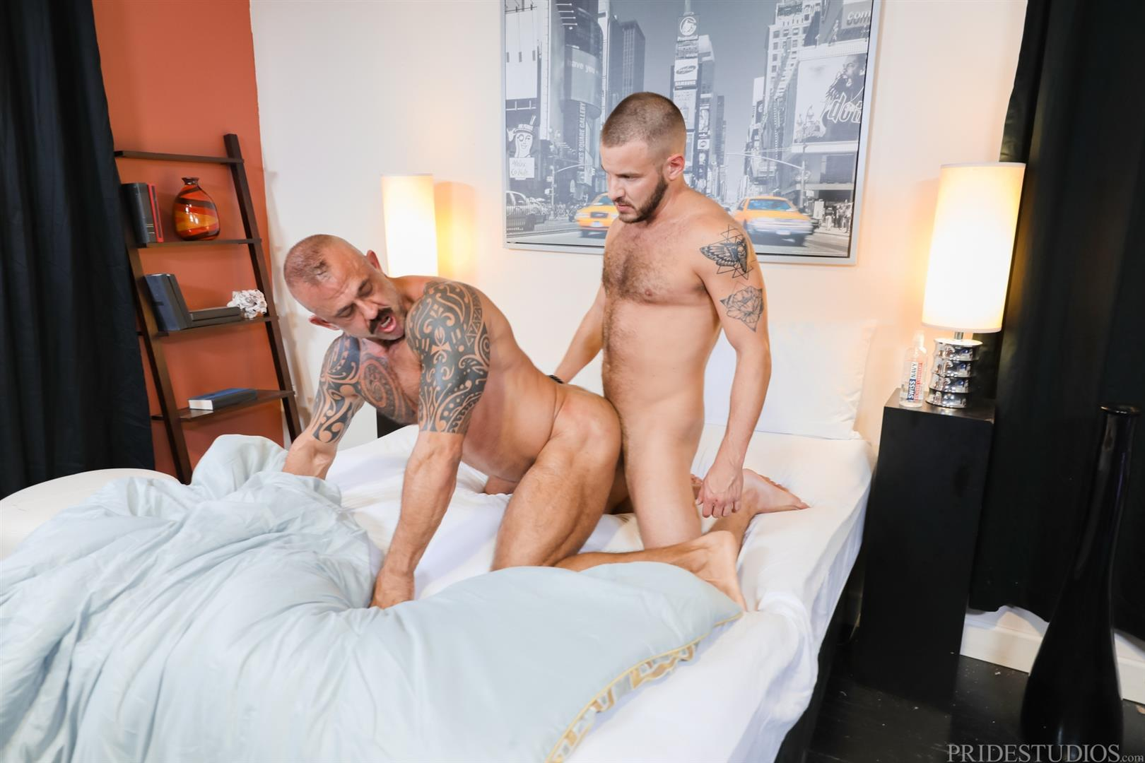 Men-Over-30-Jon-Galt-and-Sean-Harding-Muscle-Daddy-Barebacking-Muscle-Cub-13 Muscle Daddy Jon Galt And Muscle Cub Sean Harding Bareback Flipping