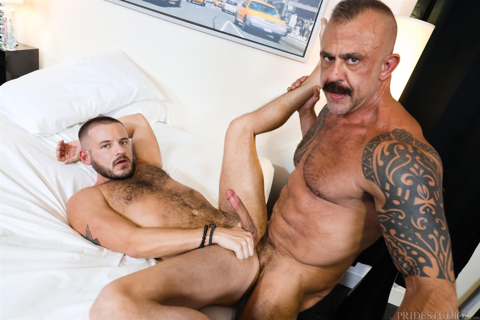Men-Over-30-Jon-Galt-and-Sean-Harding-Muscle-Daddy-Barebacking-Muscle-Cub-15 Muscle Daddy Jon Galt And Muscle Cub Sean Harding Bareback Flipping